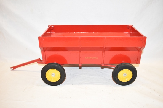 ERTL Massey Harris Dump Wagon Toy