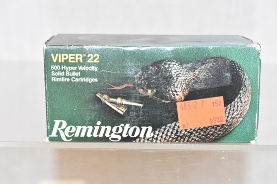 Ammo. Viper 22, 500 Rds.