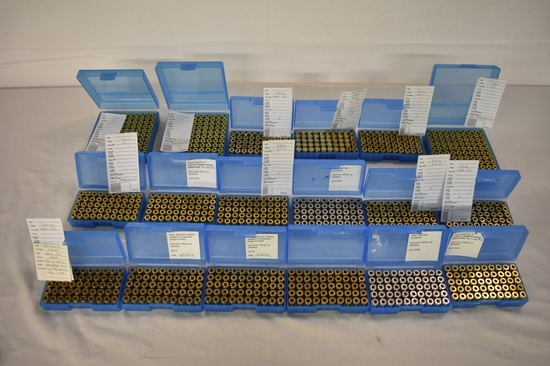 Brass. 9mm. Total Approximately 2094 Rds