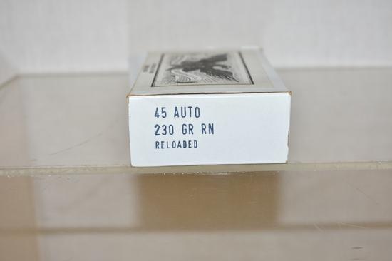 Ammo. 45 Auto.  50 Rds.