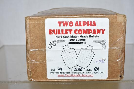 Ammo. 45 cal. 500 Rds