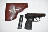 Gun. German Makarov 9mm mar. cal Pistol