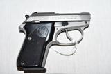 Gun. Beretta Model 3032 Tomcat 32 cal Pistol