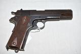 Gun. Colt Model 1911 45 acp cal Pistol