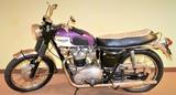 1967 Triumph 650 Bonneville Motorcycle