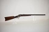 Gun. Winchester Model 1885 22 WCF Rifle