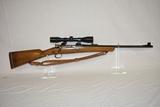Gun. Custom Spainish Mauser 6mm cal Rifle
