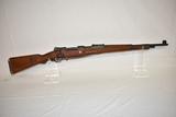 Gun. German Model K98 8 mm cal Rifle