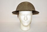 WWI Dough Boy Military Helmet with Liner