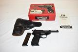 Gun. Walthers Model P38-P1 9mm cal Pistol