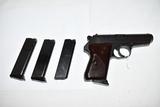 Gun. Czech Model VZ 50  32 cal Pistol