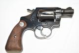 Gun. Colt Model Detective Special 38 cal Revolver