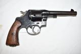 Gun. Colt Model 1917 45 acp cal Revolver