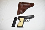 Gun. Sauer & Sohn Model 38H Nazi Army 32 Pistol