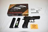 Gun. Desert Eagle Baby Eagle 9mm cal Pistol