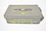 M139 Ammo Can for 25 Cartridges, 20 mm.