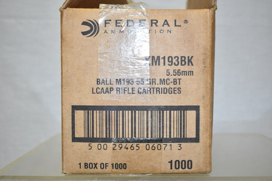 Ammo. 5.56. 1000 Rds