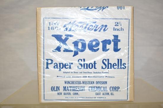 Collectible Ammo 16 GA 100 Paper Shot Shells