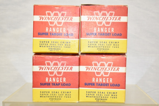 Collectible Ammo Winchester Boxes Only, 12 Ga