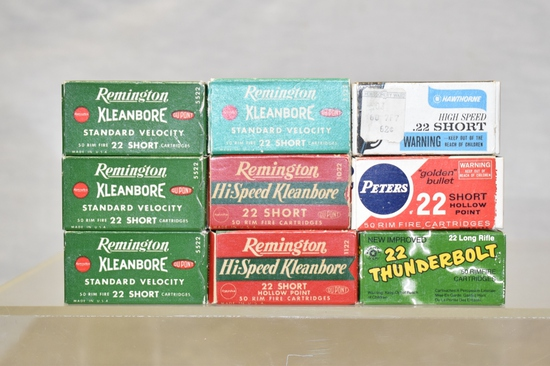 Collectible Ammo 22 Short
