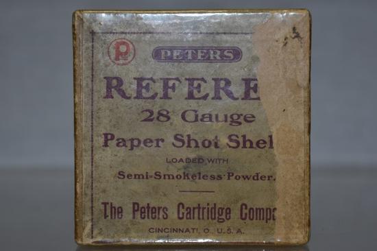 Collectible Ammo 28 GA Paper Shot Shells