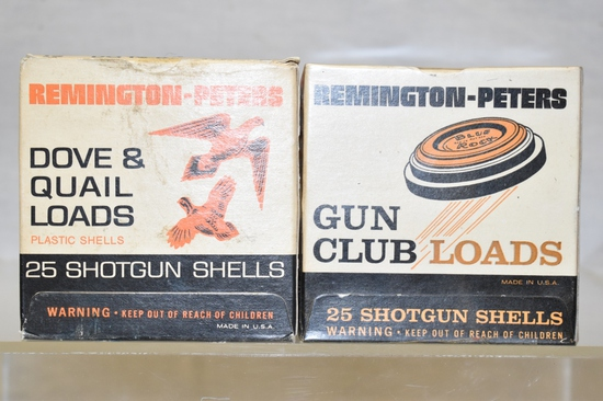 Collectible Ammo 12 GA, Remington - Peters