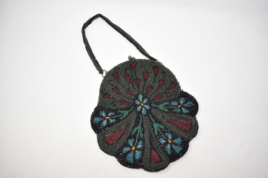 Vintage Micro Beaded Handcrafted Purse