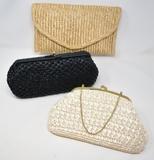 Three Vintage Wicker Handbags