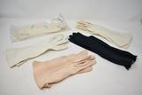 Vintage Hanker chiefs & Long Opera Gloves