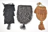 Three Vintage Beaded Flapper Handbags