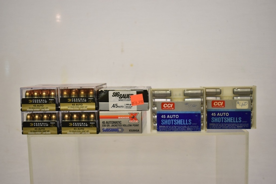 Ammo. 45 Auto 140 Rnds