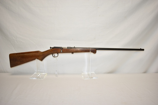 Gun. Iver Johnson Model X Safety 22 cal Rifle