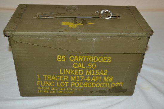 Ammo. Ammo Can w/mixed .308 from Israeli Army