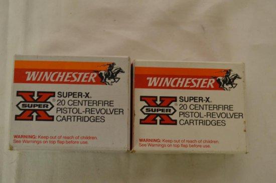 Ammo. Winchester Silvertip 45 Auto & 45 Colt