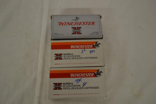 Ammo. Winchester 9mm Luger Silvertip