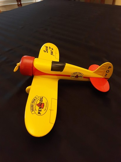 Penzoil toy bank