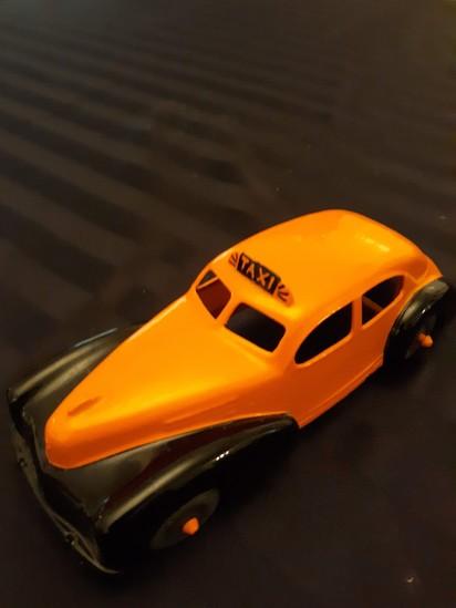 Hubley Kiddie Toy Taxi