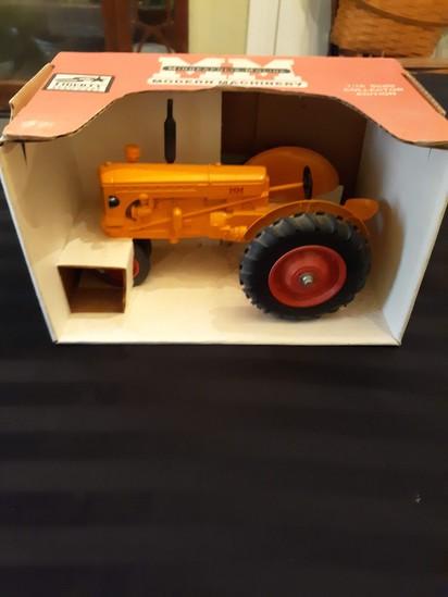 Minneapolis Moline toy tractor
