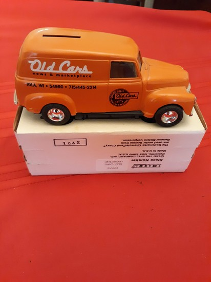 Ertl Old Cars toy bank