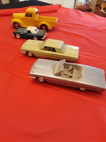 Assorted toy cars