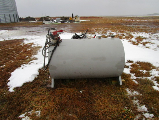 300 gallon diesel fuel tank