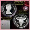 1982 Regina Centennial Proof Canadian Silver Dollar $1 in orig box