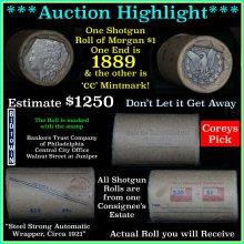 ***Auction Highlight*** Morgan dollar roll