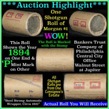 Morgan dollar roll ends 1894