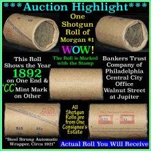 Morgan dollar roll ends 1892
