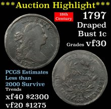 ***Auction Highlight*** 1797 Rev '97 Stem Draped