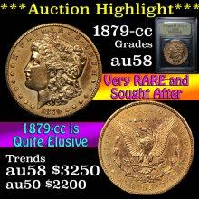 1879-cc Morgan Dollar $1 Graded Choice AU/BU
