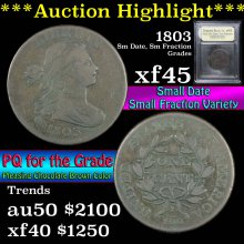 1803 Sm Date, Sm Fraction Draped Bust Large Cent