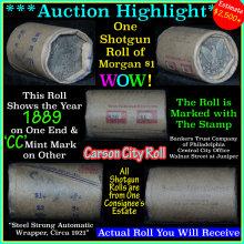All Carson City Morgan dollar roll ends 1889 &