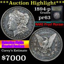 1894-p Morgan Dollar $1 Graded Select Proof